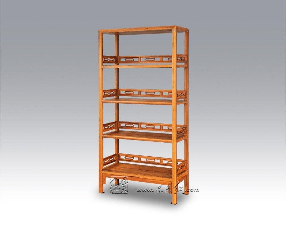 Salon multi-fonction combiné armoire de rangement bibliothèque solide en bois articles divers étagère palissandre placard classeur porte-revues