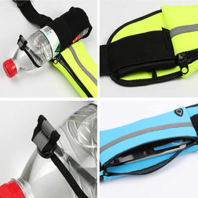 896710023 ... MELIFE Outdoor Running Waist Bags Waterproof For Mobile Phone Jogging  Belt Belly Bag Women Gym Fitness ...