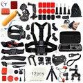 29 in 1 Go Per Accessories Kit Set stick Monopod Swim Bobber Chest Strap for Gopro Hero 5 4 3 + 2 xiaomi yi action camera