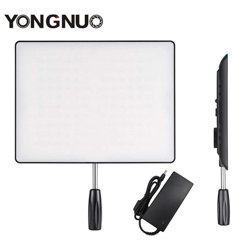 <font><b>YONGNUO</b></font> <font><b>YN600</b></font> Air Camera LED Video Light with Power Adapter Studio Lighting 5500K & 3200K-5500K YN600air for Canon Nikon DSLR image