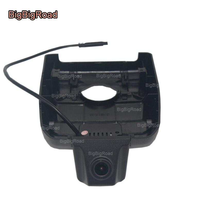 BigBigRoad pour Toyota Camry 2018 enregistreur vidéo de voiture Wifi DVR caméra de tableau de bord FHD 1080 P grand Angle