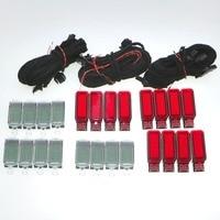 Комплект из 3 предметов: дверная табличка Предупреждение свет + светодиодный подкладке для ног огни + кабельный жгут для Q3 Q5 Q7 A3 A4 S4 A6 S6 RS7 3AD947409