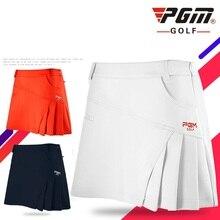 Dress Shorts Skirts Golf-Clubs-Ball Womens Woman Pgm 4-Colors Anti-Light D0371 Quick-Dry