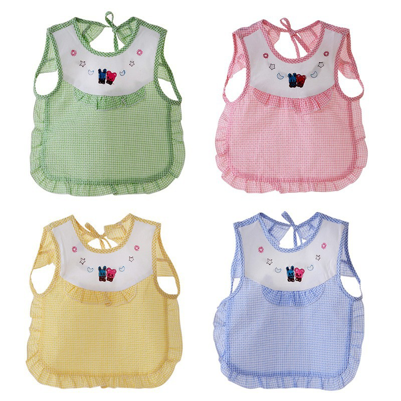2018 Summer Baby Bibs Cloths Cute Cartoon Print Waterproof Bib Bubbler Fashion Eat Saliva Towel Q1