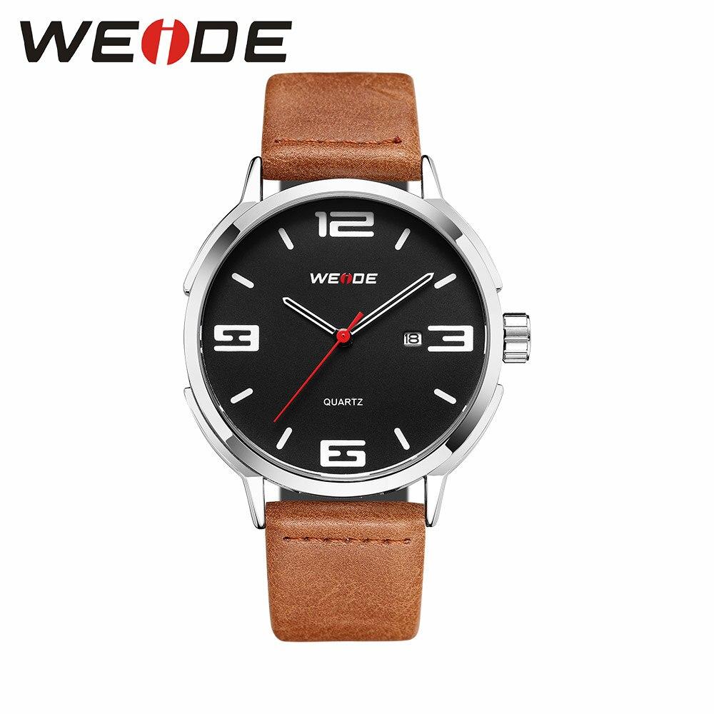 d080485abc2 WEIDE Relógio marca de luxo Homens relógio automático Analógico relógio de quartzo  homens esportes relógios pulseira