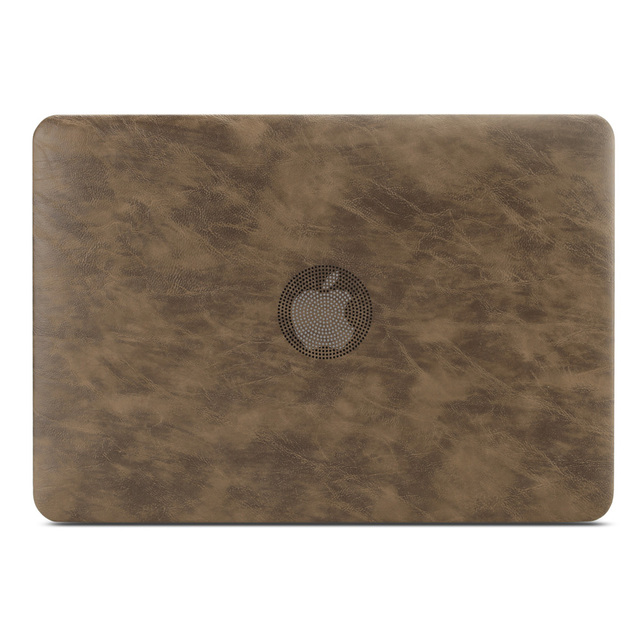PU leather Hard Case for MacBook 1
