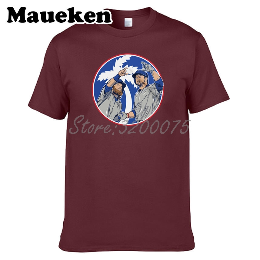 best sneakers 8db74 7032a US $18.88 |Men T shirt Justin Turner 10 & Adrian Gonzalez 23 Air Selfie  Clothes T Shirt Men's for Los Angeles fans o neck tee W17082512-in T-Shirts  ...