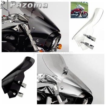 Clear Motorcycle Windshield Extension Motorbike Windscreen Deflector For Suzuki Boulevard M109R M109R2 M109RZ Limited M50 M90