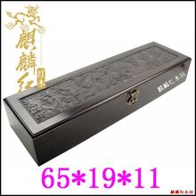 """Kylin rosewood crafts high-end painting calligraphy and painting box packing box ebony box large collection of the """"scholar's fo"""