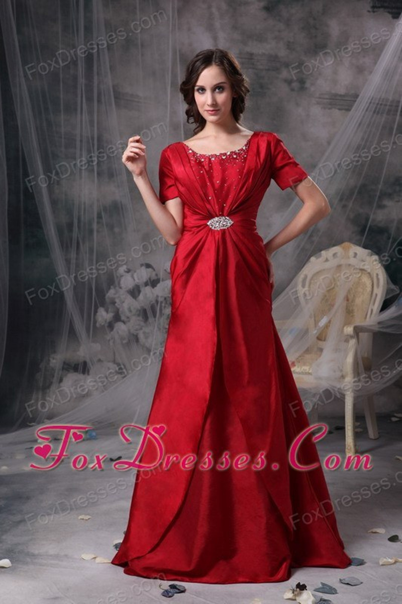 Popular Red Mother Bride Dresses-Buy Cheap Red Mother Bride ...