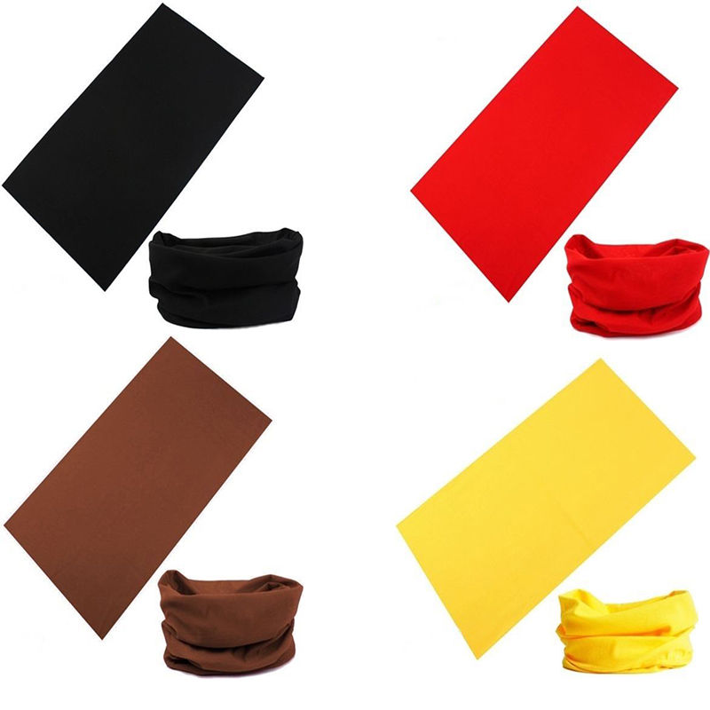 1 pc Scarf Tube Bandana Head Face Mask Neck Gaiter Snood Headwear Beanie Fashion clothing accessories