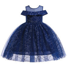 купить Children Princess Tutu Dress Girls Clothing Brand Flower Birthday Lace Dress Children Graduation Gowns Vestido De Festa Infantil дешево
