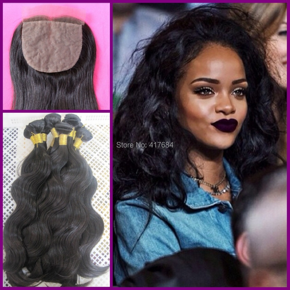 Super Star Style Rihanna Beautyhair Body Wave Virgin Human Hair 3