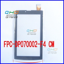 New 1pcs 7'' inch capacitive touch screen tablet computer screen fpc-dp070002-f4 free shipping
