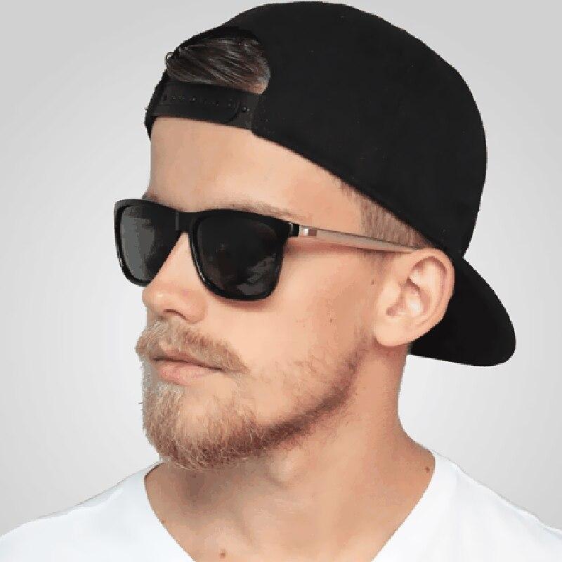 32a120a812 Polarized Men Women Night vision Sunglasses Mirror Brand Design Vintage  Square Male Female polaroid Sun Glasses