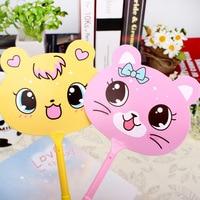 QSHOIC 60PCS/lot fan ballpoint pen Cute cartoon pen gift pen wholesale South Korea's creative stationery wholesale fan pen