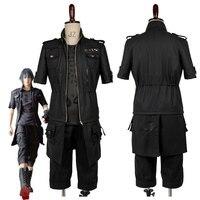 Dorosłych Final Fantasy XV FF15 Noctis Lucis Caelum Noct Cosplay Costume Outfit Mężczyzna Kobieta Na Zamówienie Dowolny Rozmiar hot