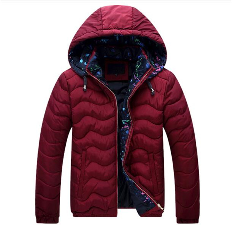 Winter Jacket Men 2017 Thick Warm Hooded Outwear Parkas Windbreak Cold Jacket Cheap Male Clothing