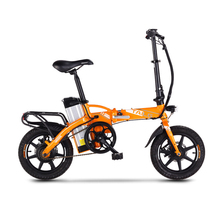 14inch Electric bicycle 48V12AH   Mini folding generation driving  electric bike Removable lithium battery City smart ebike