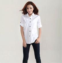 2015 Plus size women's casual linen blouse long-sleeved shirt was thin summer loose shirt female clothes XXXL 4XL 5XL