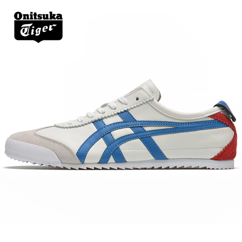 official photos c0d8f 98102 Authentic ONITSUKA TIGER MEXICO 66 Shoes Men's Women Leather ...