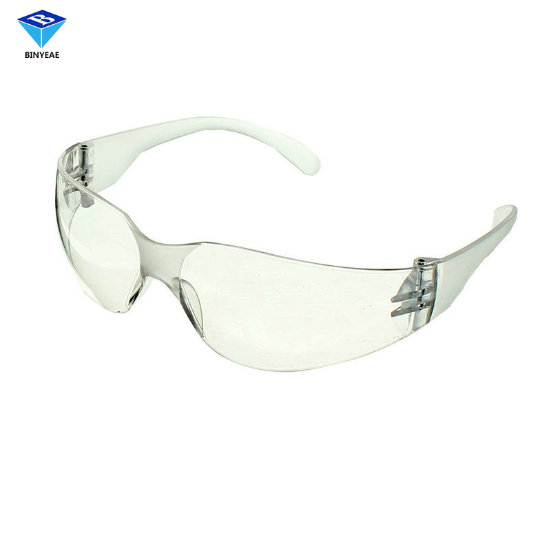 Safety Goggles New Safurance Anti-uv Pc Protective Glasses Goggles Yellow Legs Protection For Lab Safety Goggles Anti Dust