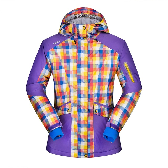 Brand New Winter Ski Jackets Suit Women Outdoor Waterproof Windproof  Breathable Snowboard Jackets Climbing Snow Skiing Clothes 3e105472c