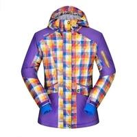 Brand New Winter Ski Jackets Suit Women Outdoor Waterproof Windproof Breathable Snowboard Jackets Climbing Snow Skiing
