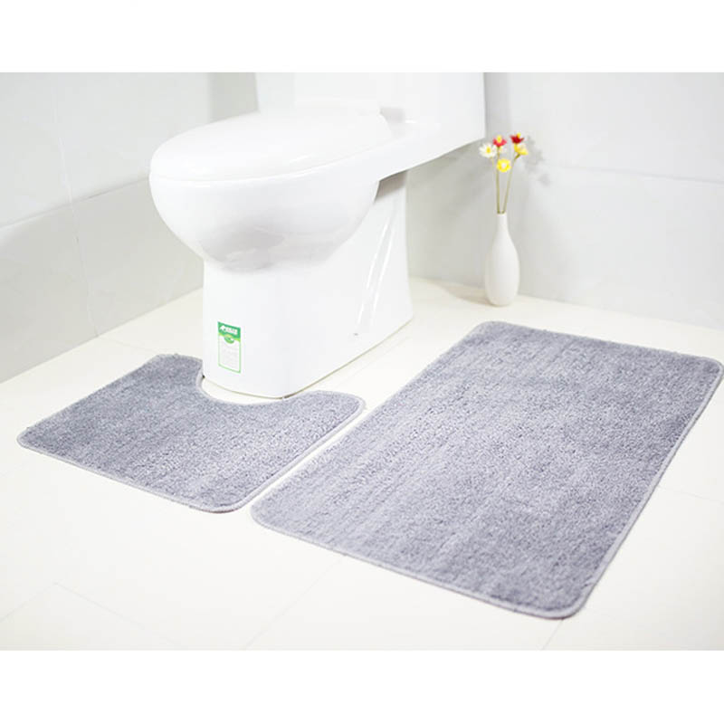 Aliexpresscom Buy 2pcsset Microfiber Bathroom Floor Rugs