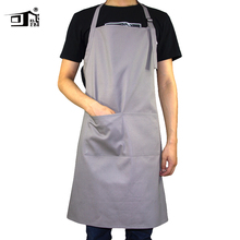 Original KEFEI 2019 New amazon cooking art apron for adults adjustable kitchen factory chef cotton pinafore