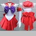 Высокое Качество Япония Sailor Moon Косплей Костюм Луна Dress Для Взрослых Необычные Хэллоуин Необычные Сексуальные Карнавальный Костюм Dress