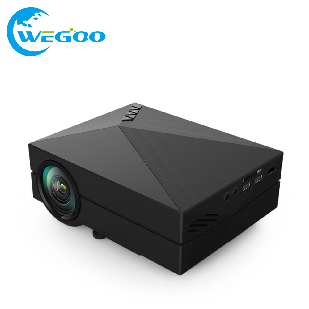 GM60 MINI Portable LED Projector HDMI/VGA/AV/SD Input For Video Games/TV/Home Theater camera Fashion Designed Beamer/Proyector