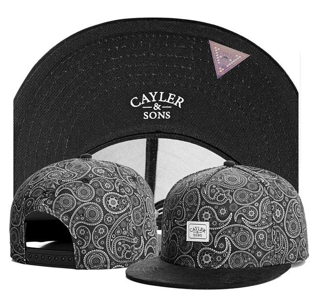 Fashion summer starter bone male black snapback caps brand cayler sons logo baseball  cap men aba reta gorras planas strapback 00f39d4283ed