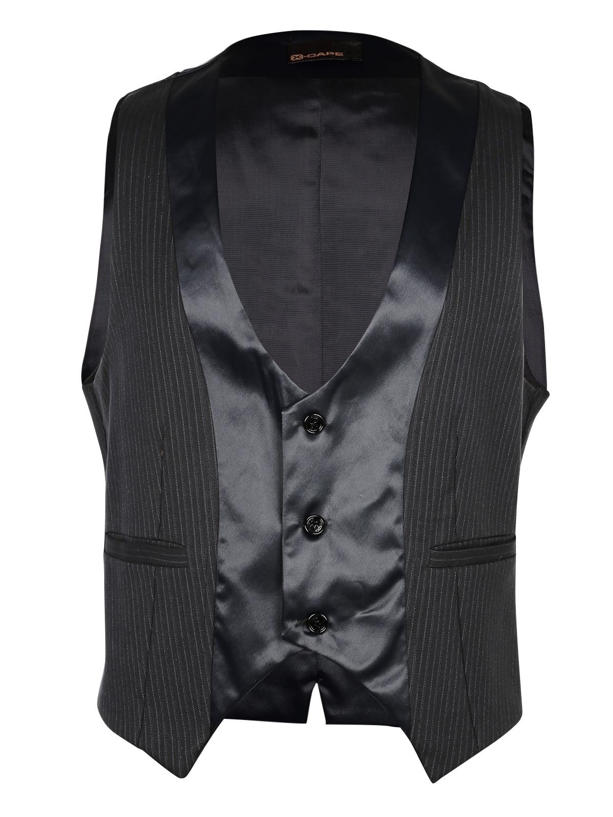 Stylish Black Pinstripe