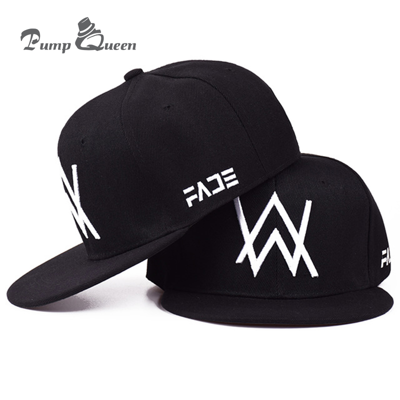 Pump Queen 2018 nueva gorra de béisbol de DJ de Allen Walker con el retorno  de los sombreros hip-hop de hombres y mujeres gorra de béisbol de hueso a87938997d6