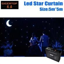 High Quality 5M*5M Led Star Curtain RGB/RGBW LED Star Cloth LED Backdrops for DJ Stage Wedding China Backdrops Light Curtains