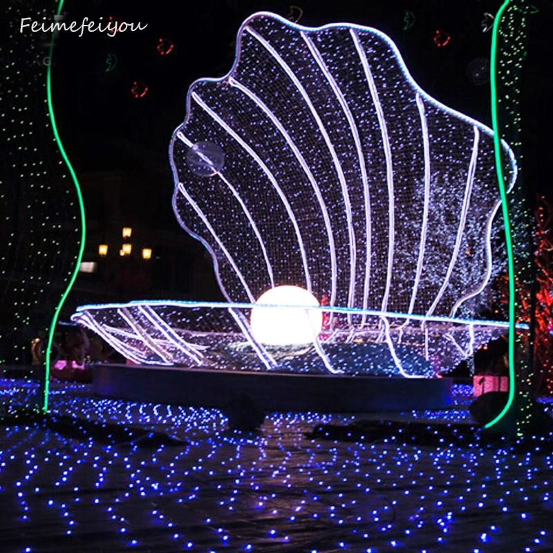 Connector 3x2 Meter Waterproof EU 220v 200LED Multicolor Fairy Mesh Net String Light Christmas Xmas Holiday LED String Light