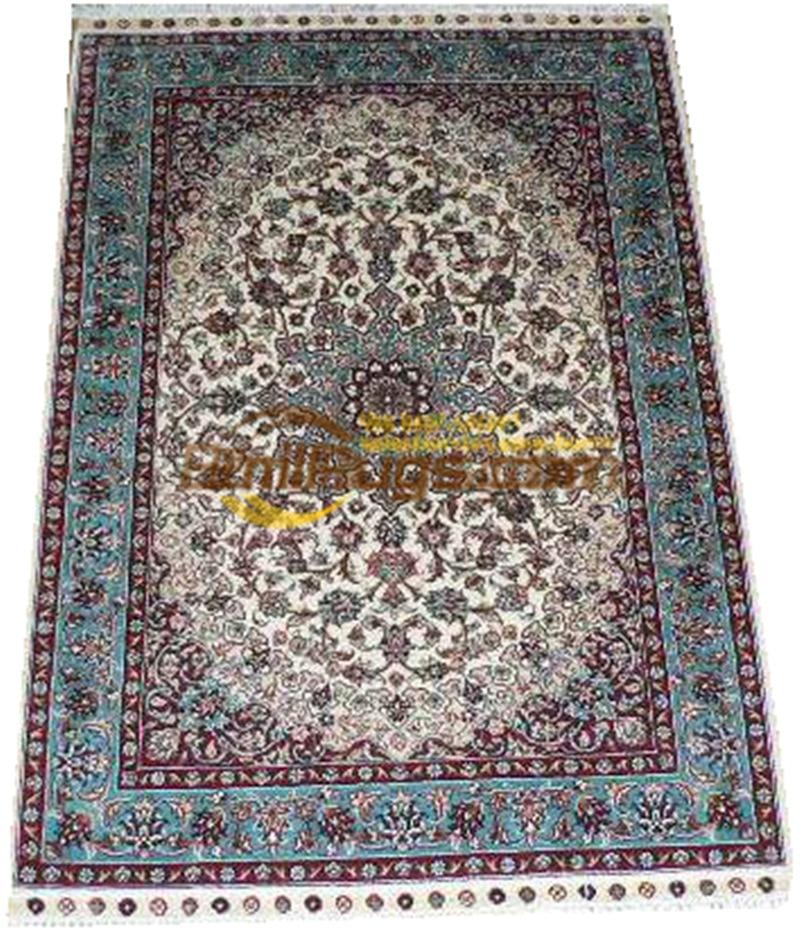 Laine ou soie persan Folk Antique décor pour salon laine tapis tapis Style sud-ouest tapis - 3