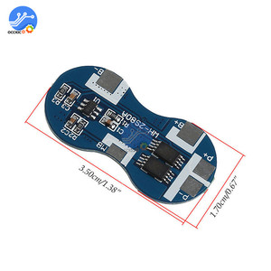 Image 3 - 2S Li ion 18650 Lithium Battery Charger Protection Board 7.4V Overcurrent Overcharge Overdischarge Protection 4A 2 Series BMS