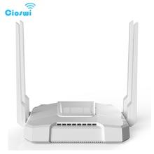 4 LAN ports 3g 4g Router Gigabit wi fi 2.4g 5.8g openWRT MT7621 Chipset 512MB RAM Router 1 mini-PCIE Slot Fashionable design