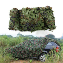 JHO-4m x 1.5m Army Hide Net Camouflage Shooting Hunting Oxford Fabric Camo Camping