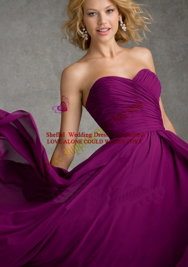 Lujoso Vestido De La Dama De Honor Verde Salvia Galería - Vestido de ...