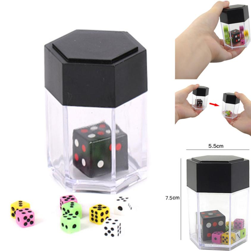 Explosion Dice Colorful Bomb Dice Change Size Kids Magic Trick Toys Develop Children's Thinking Skills And Imagination Cherryb