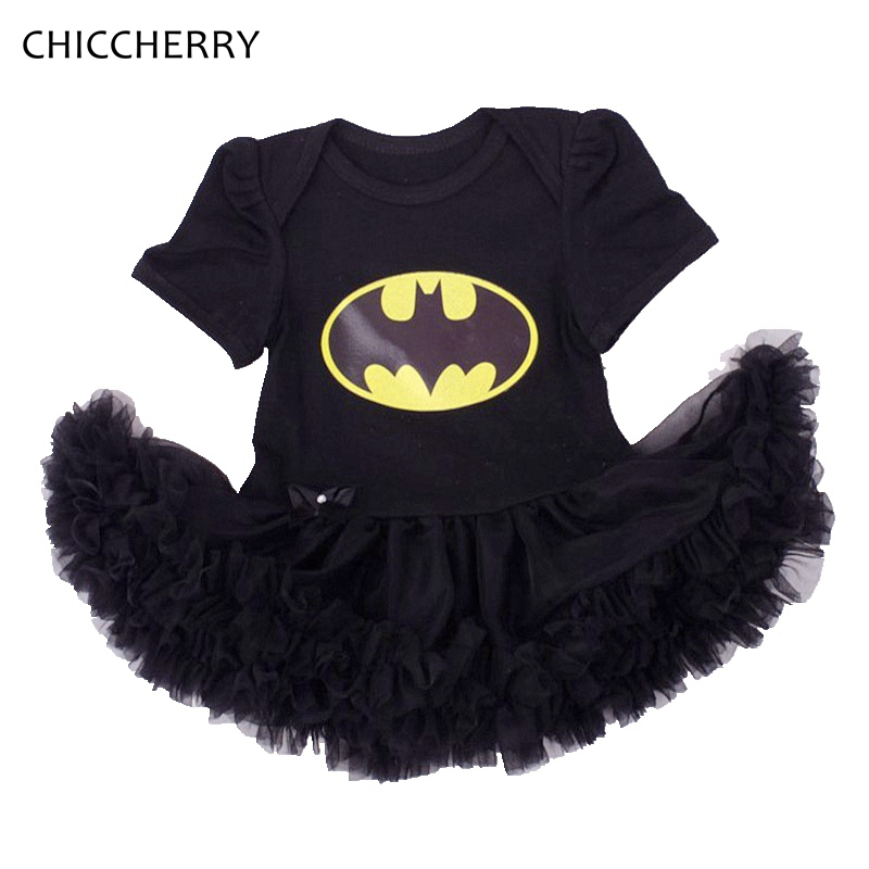 Cool Batman Costume Black Baby Rompers Overall 1st Birthday Outfits Body Bebe Jumpsuit Newborn Baby Girl Clothes Infant Clothing