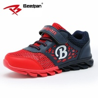 Beedpan Hot Sale 2017 Summer Mesh Children Sneakers Cowhide Leather Child Casual Shoes Fashion Sport Boys