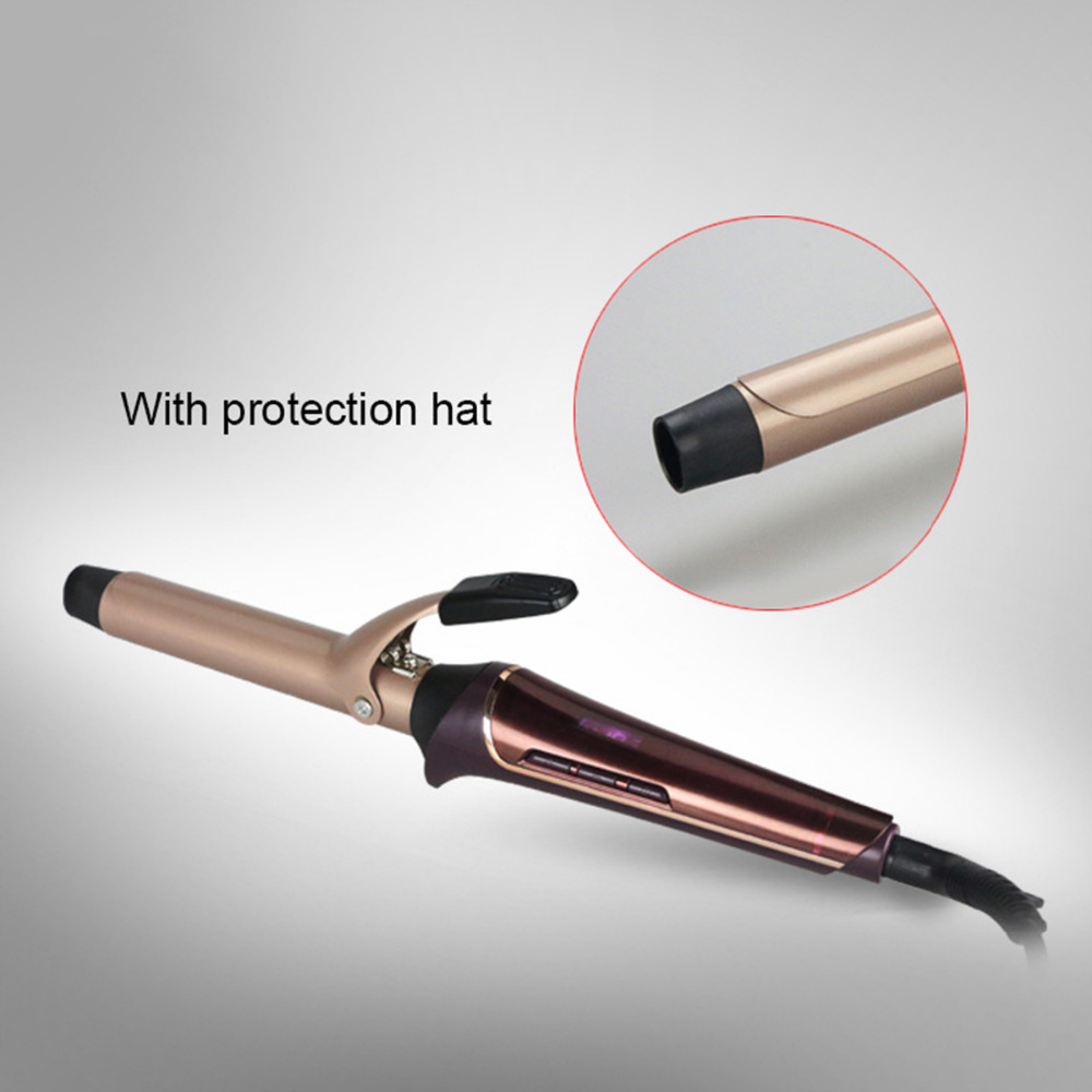 Electric Hair Curler Roller Ceramic Curling Tong Wand Professional Spiral Curling Iron Hair Styling Tool ckeyin professional 09 31mm curling wand automatic hair curling tong 110 240v hair curling iron the wand hair curler roller 35