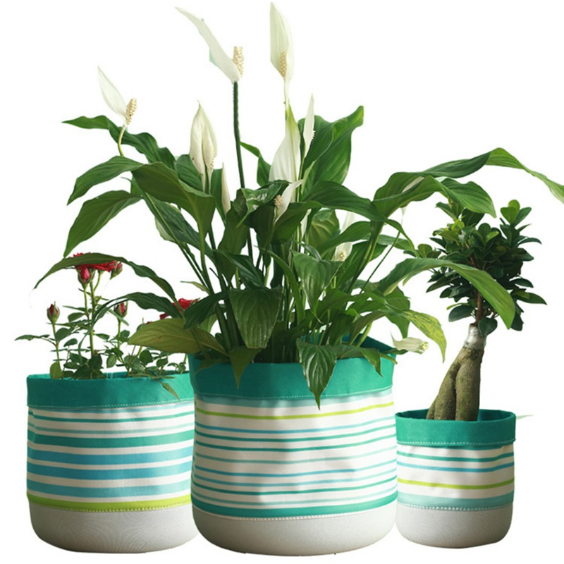 Home Storage Organization Cloth Pots Garden Pots Planters Creative Garden Products for Flowers/Sundries