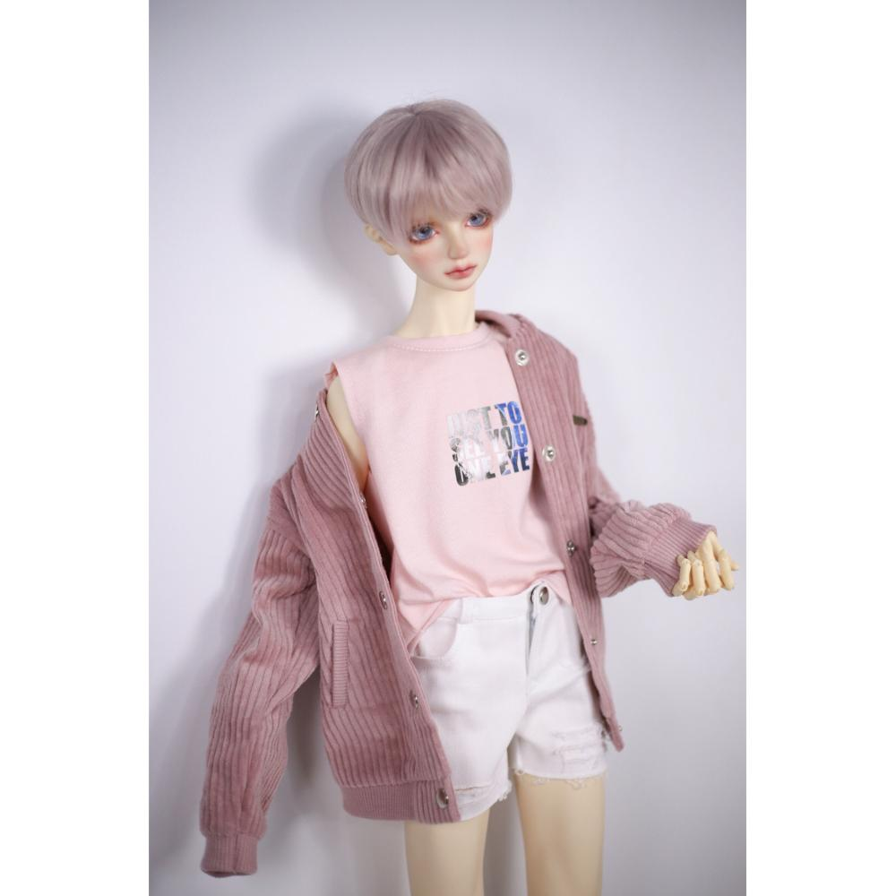 Bjd Pink Vest Tank Top Outfits Top Clothing For 1/4 1/3 SD17 70cm 17