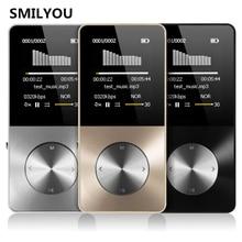 Smilyou HiFi Металл MP4-плеер Встроенный динамик 4 ГБ 8 ГБ 16 ГБ 1.8 дюймов Экран может Поддержка 32 ГБ SD карты с видео сигнал FM Электронная книга