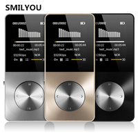 HiFi Metal MP4 Player Built In Speaker 4GB 8GB 16GB 1 8 Inch Screen Can Support
